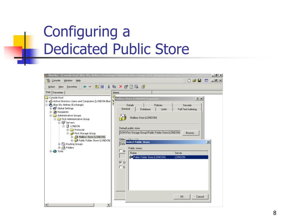 Configuring a