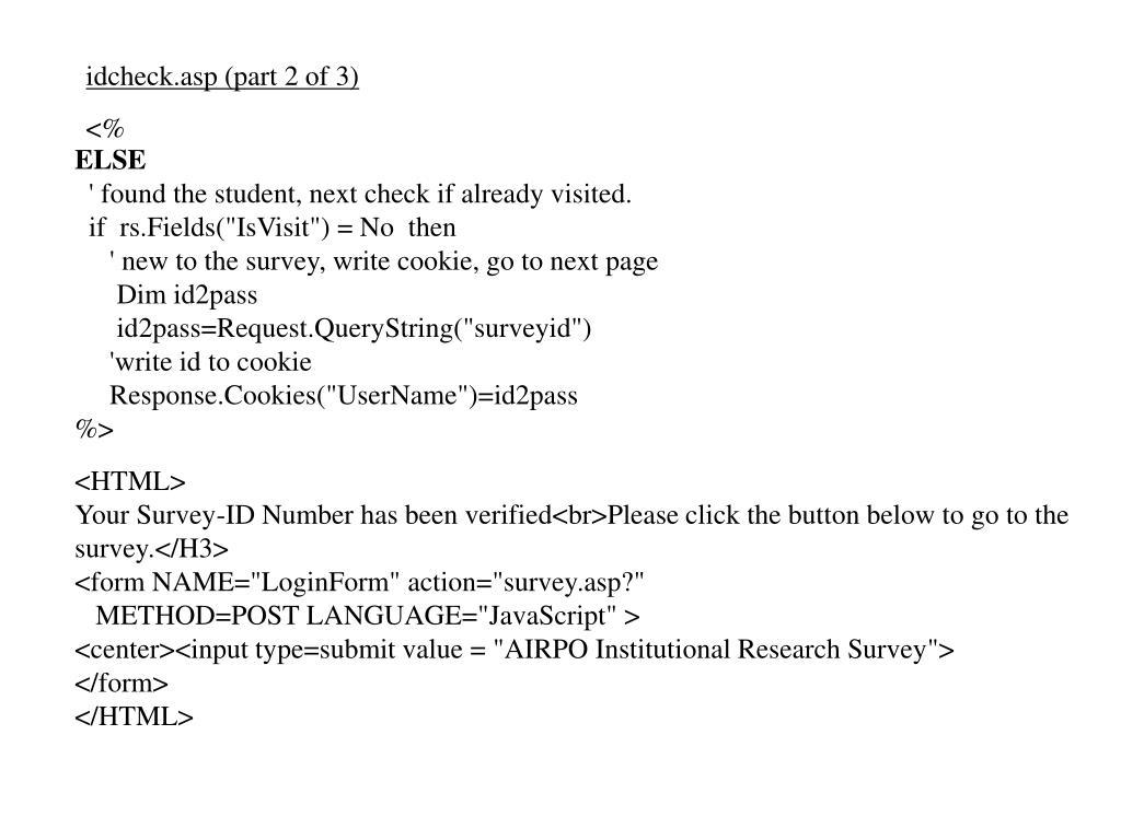 idcheck.asp (part 2 of 3)