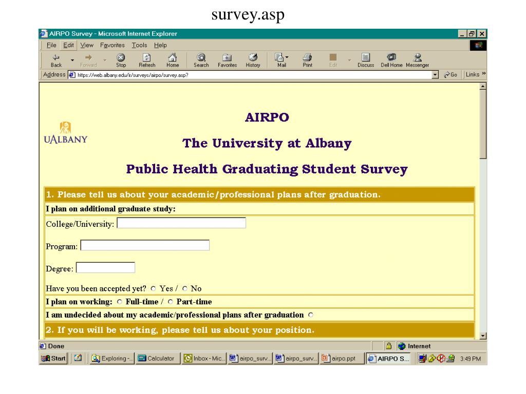survey.asp