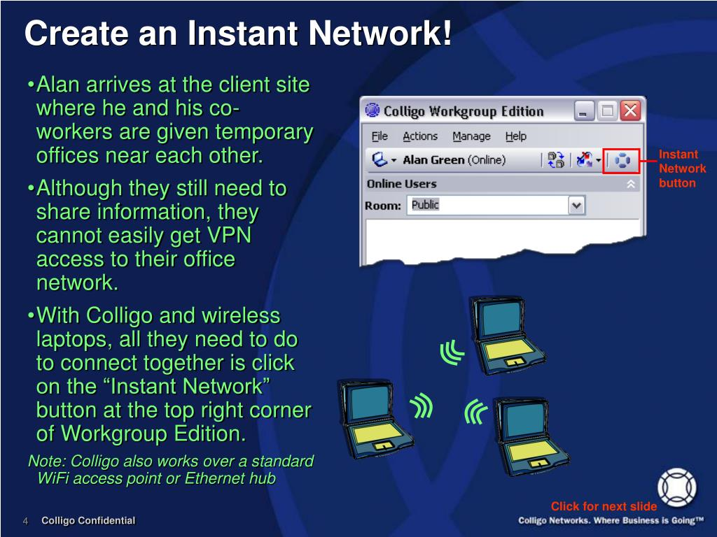 Create an Instant Network!