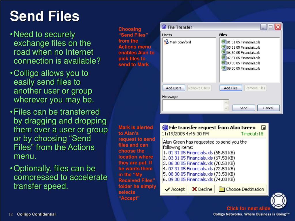 Send Files
