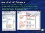 share outlook calendars