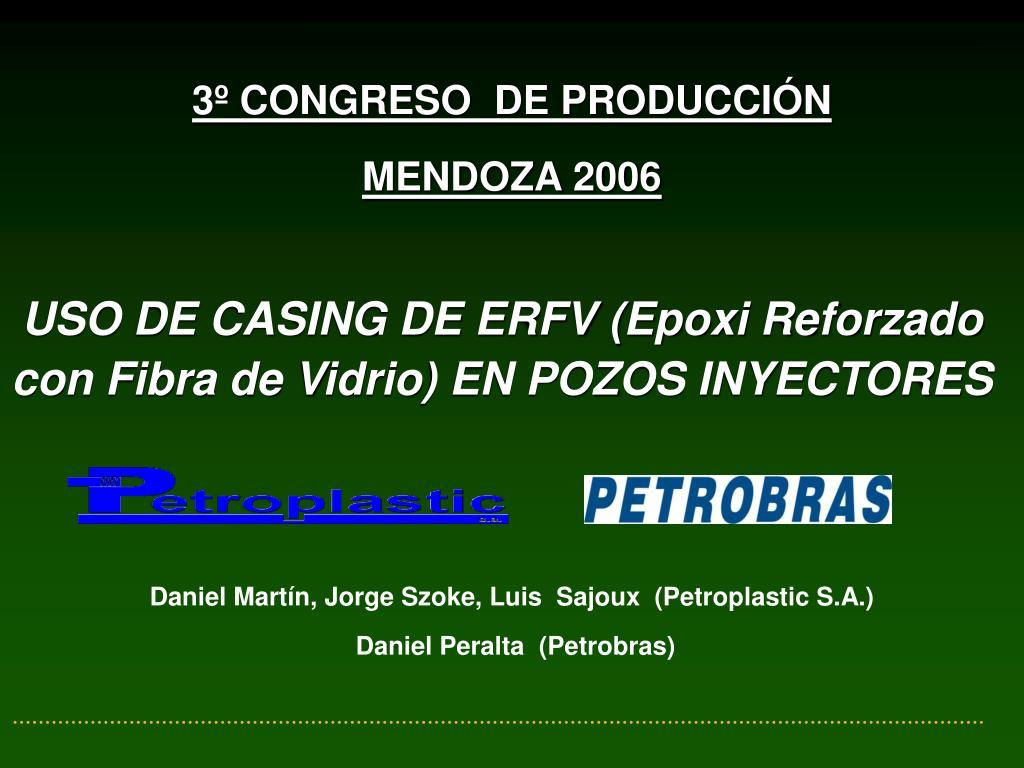 3º CONGRESO  DE PRODUCCIÓN