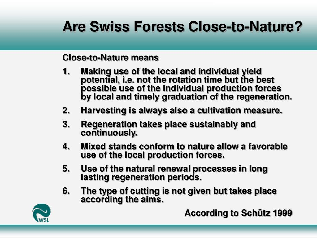 Are Swiss