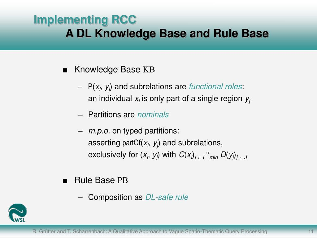 Implementing RCC