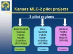 kansas mlc 2 pilot projects