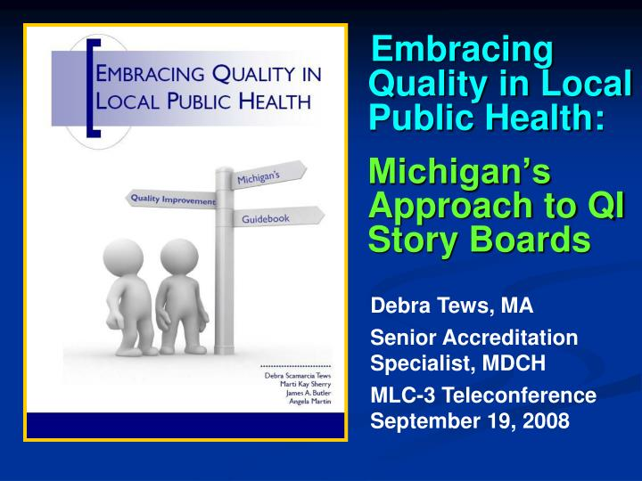 Embracing Quality in Local Public Health: