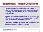 experiment image collections
