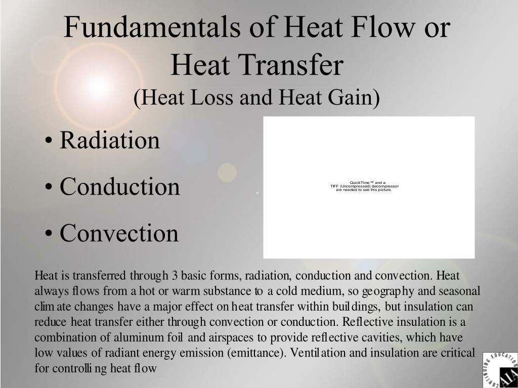 Fundamentals of Heat Flow or Heat Transfer