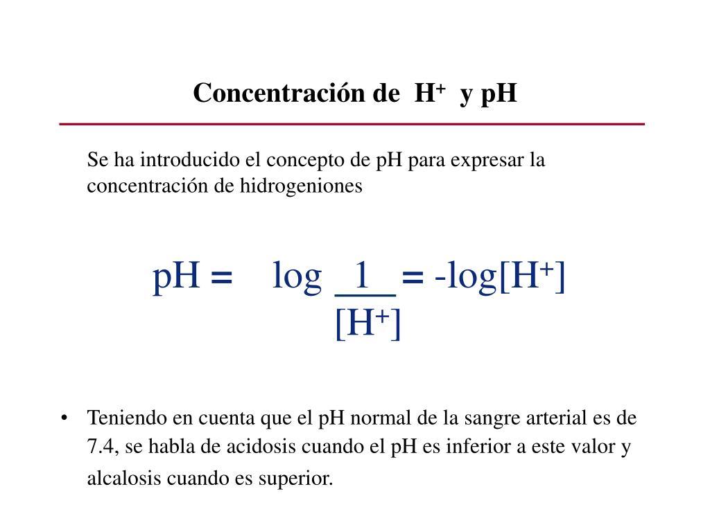 Concentración de