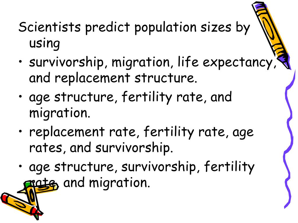 Scientists predict population sizes by using