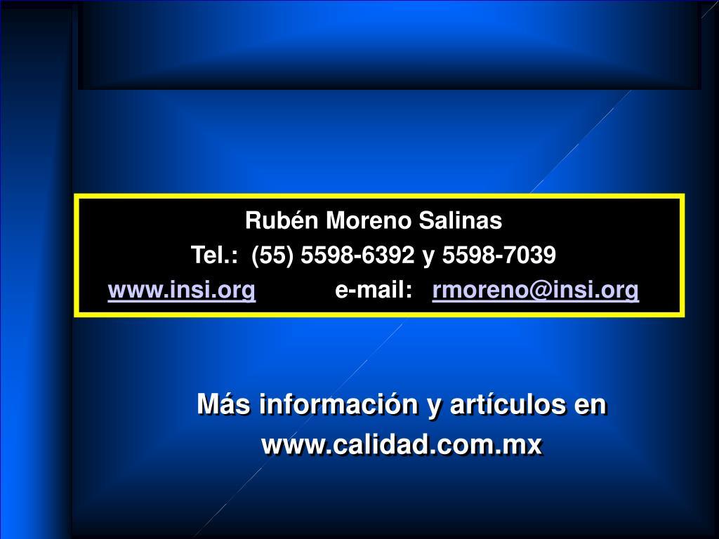 Rubén Moreno Salinas