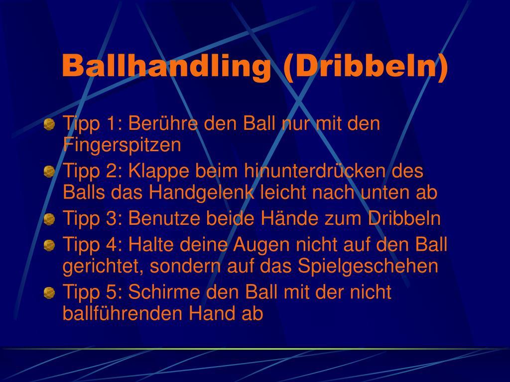 Ballhandling (Dribbeln)