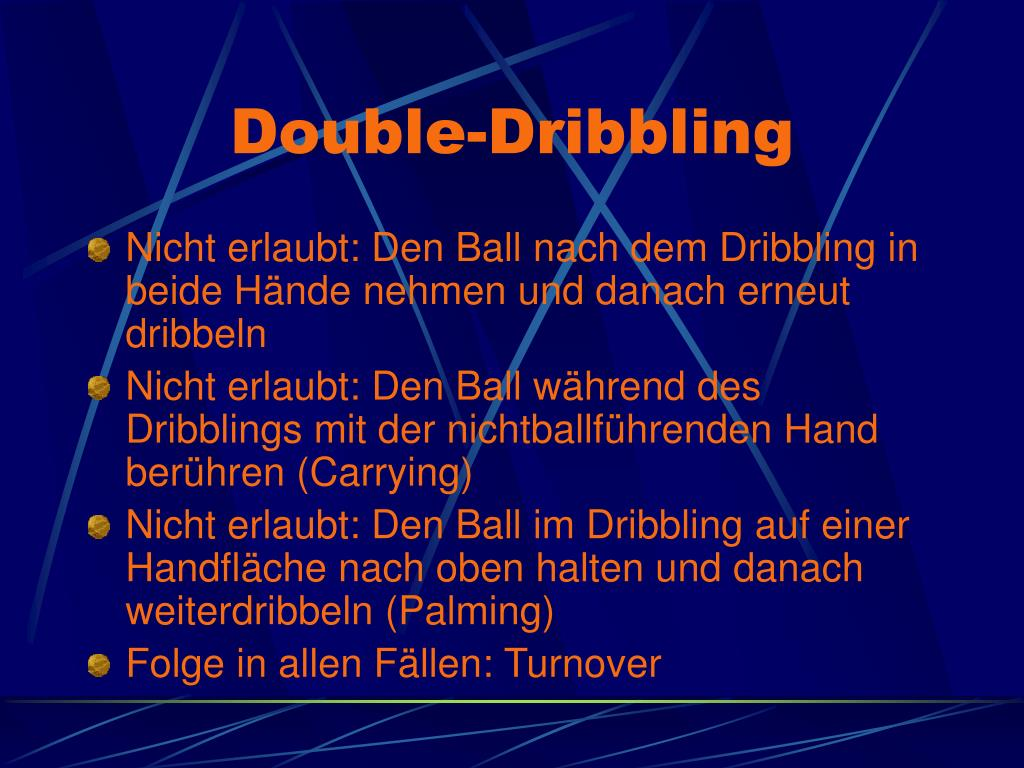 Double-Dribbling