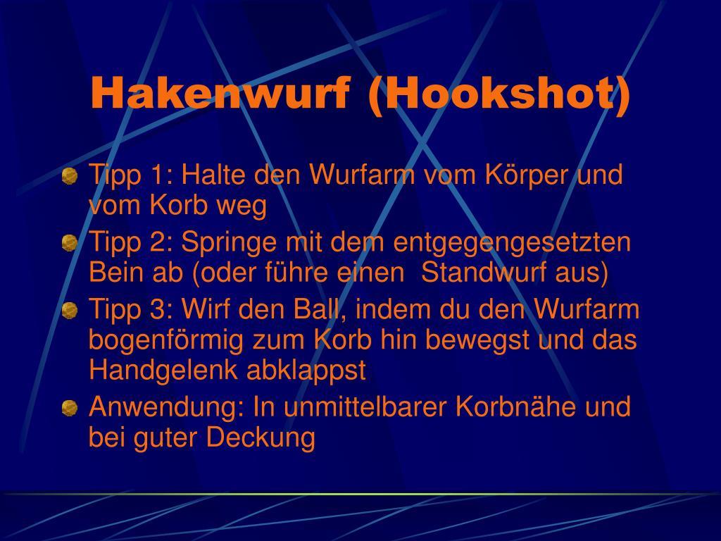 Hakenwurf (Hookshot)