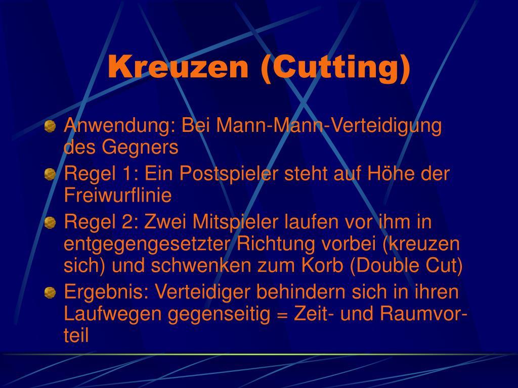 Kreuzen (Cutting)
