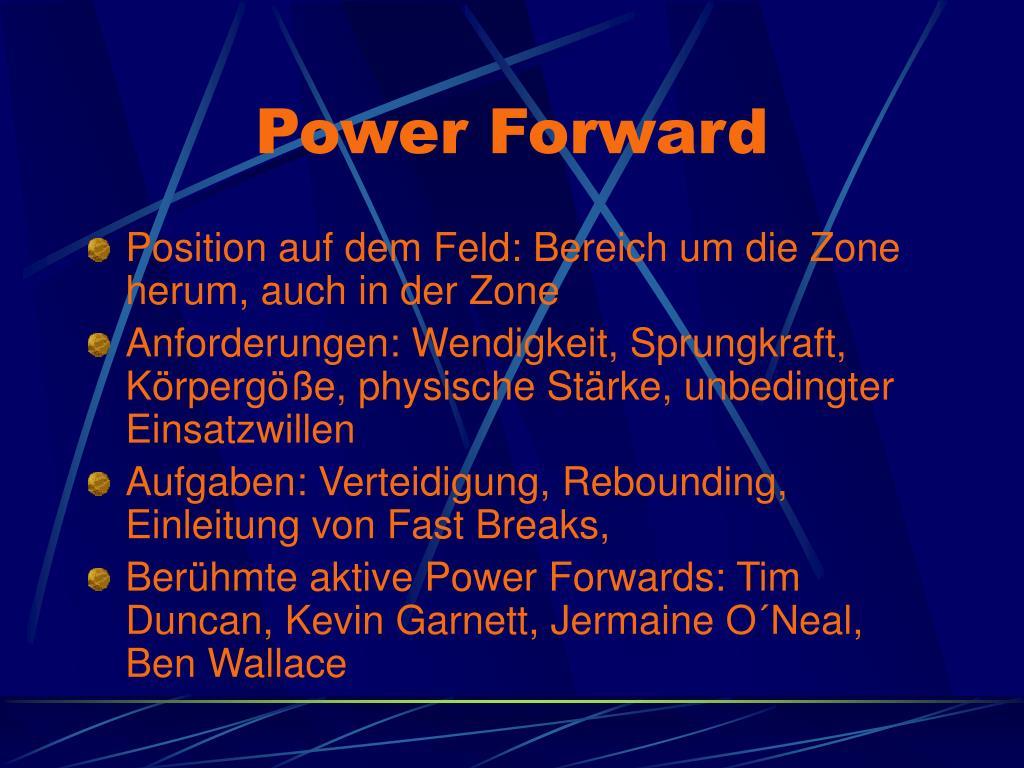 Power Forward