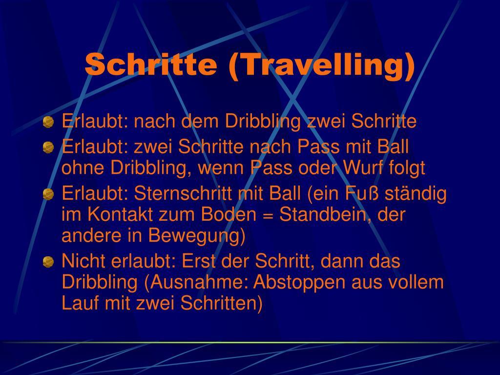 Schritte (Travelling)