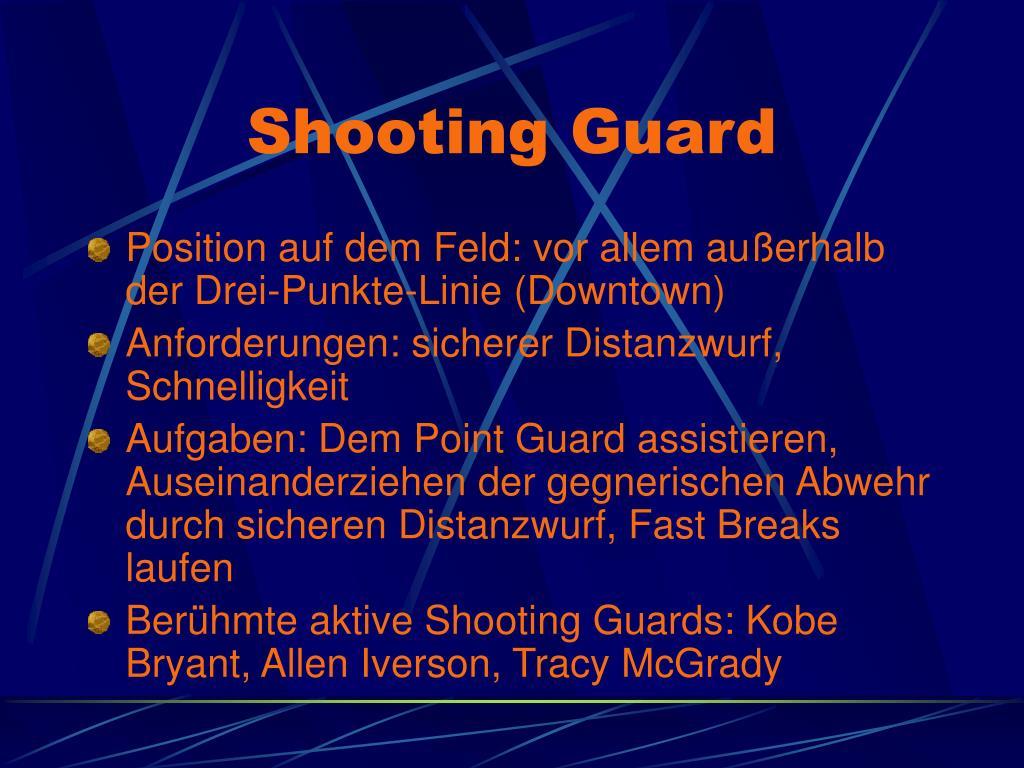 Shooting Guard