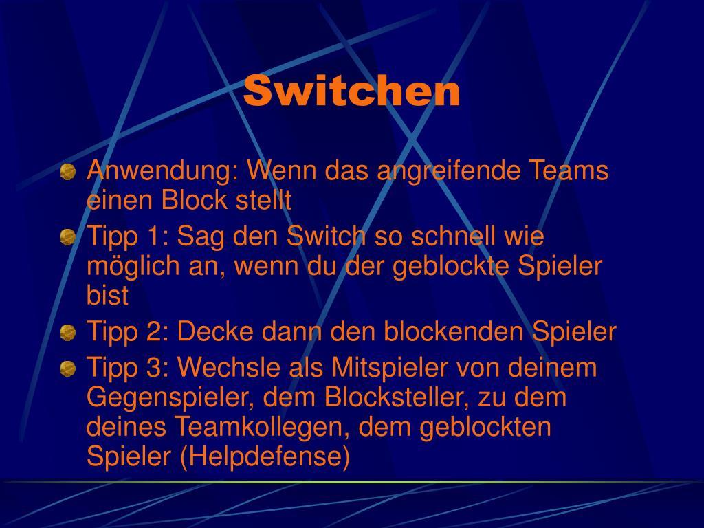 Switchen