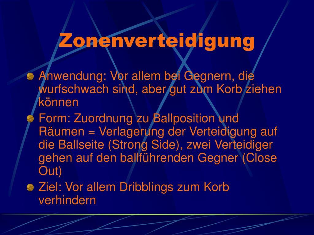 Zonenverteidigung