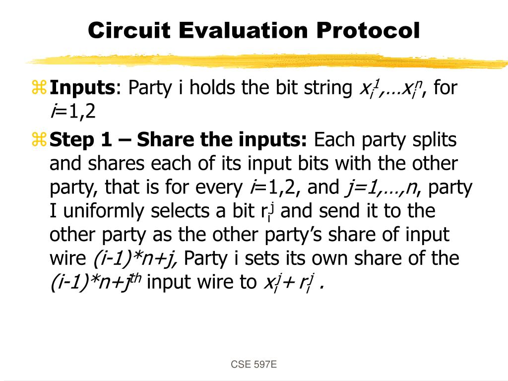 Circuit Evaluation Protocol