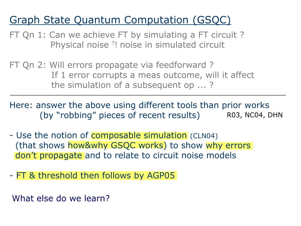 Graph State Quantum Computation (GSQC)