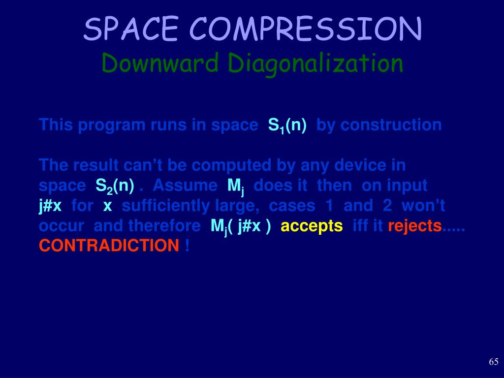 SPACE COMPRESSION