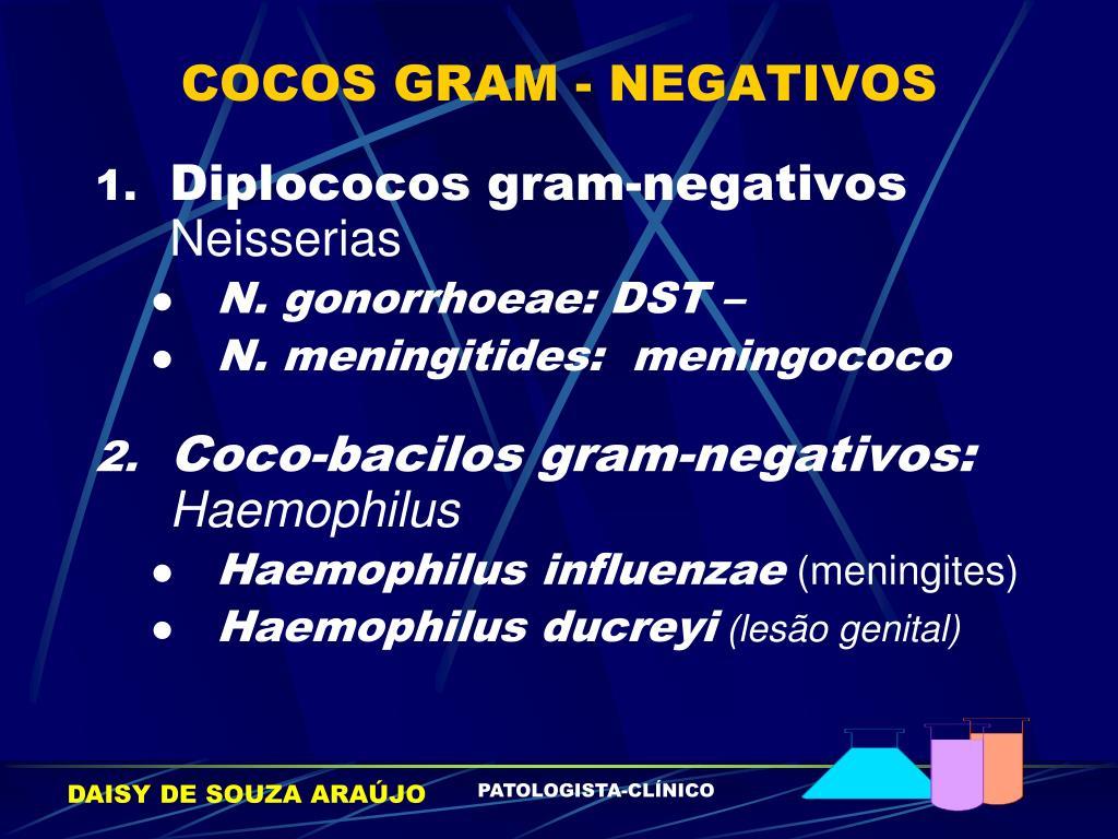 COCOS GRAM - NEGATIVOS