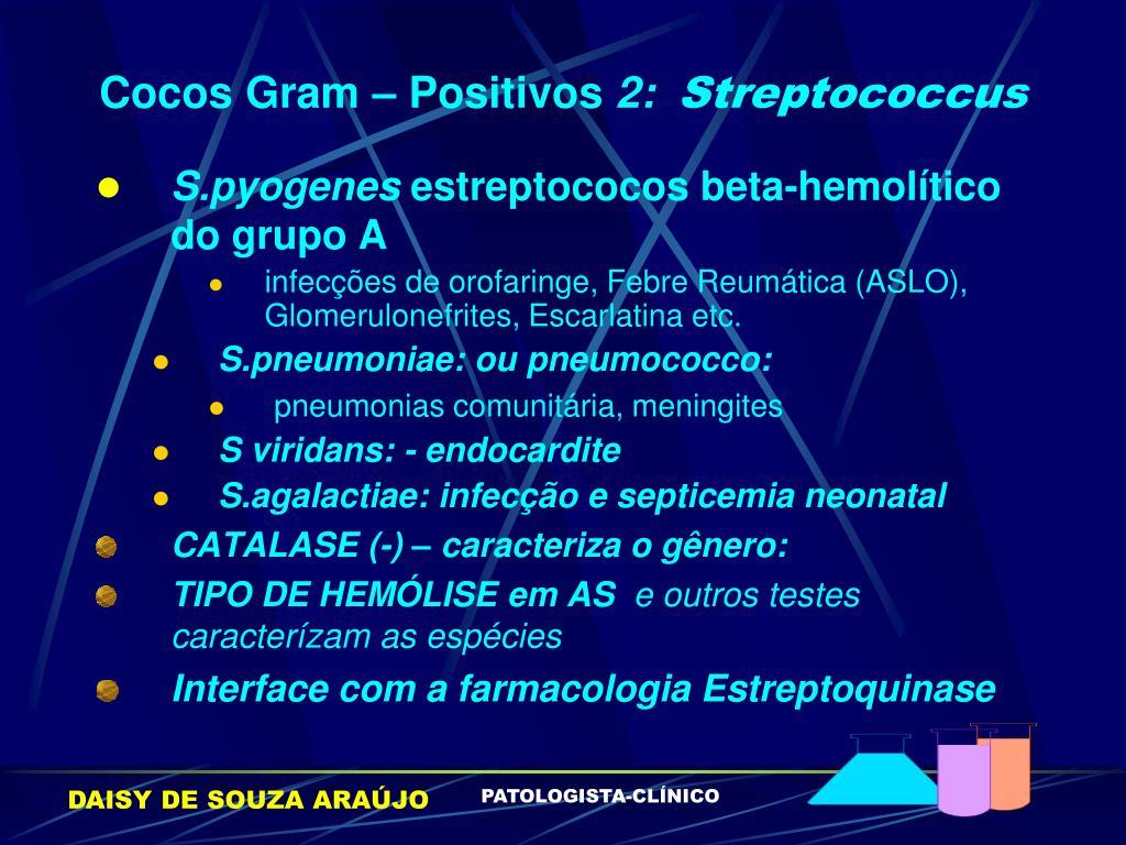 Cocos Gram – Positivos