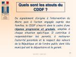 quels sont les atouts du cddf17