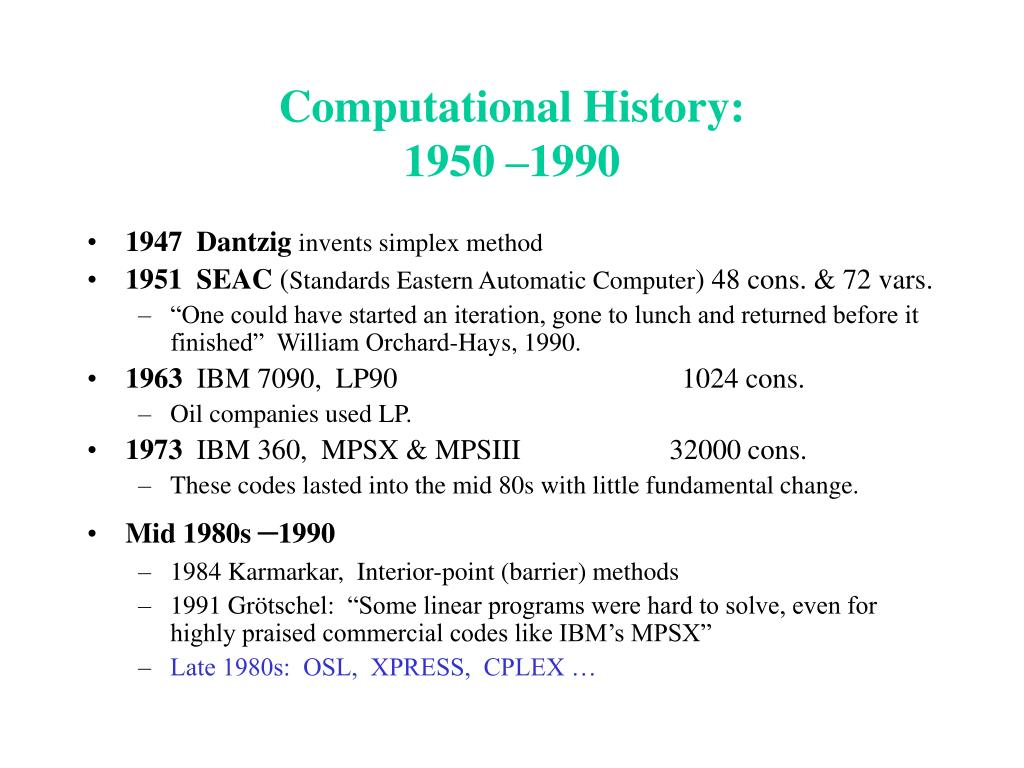 Computational History: