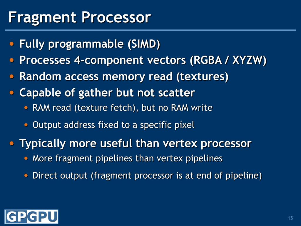 Fragment Processor