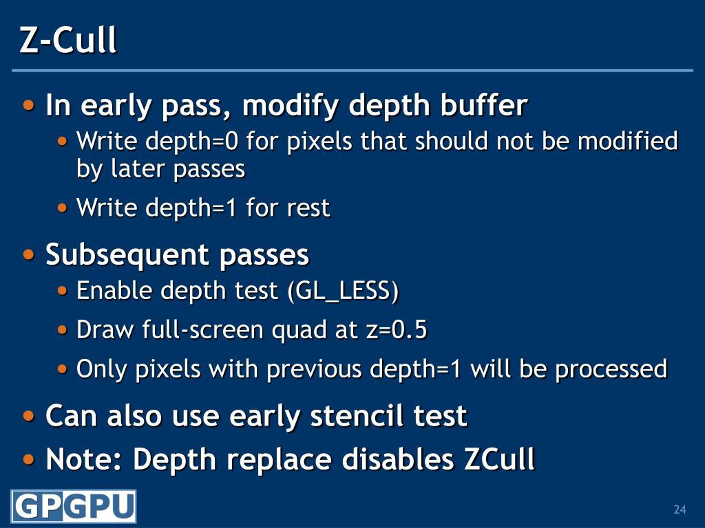 Z-Cull