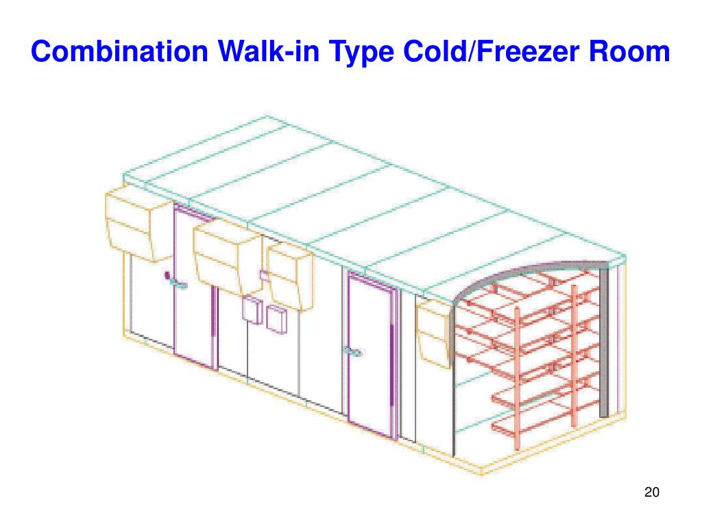 Combination Walk-in Type Cold/Freezer Room