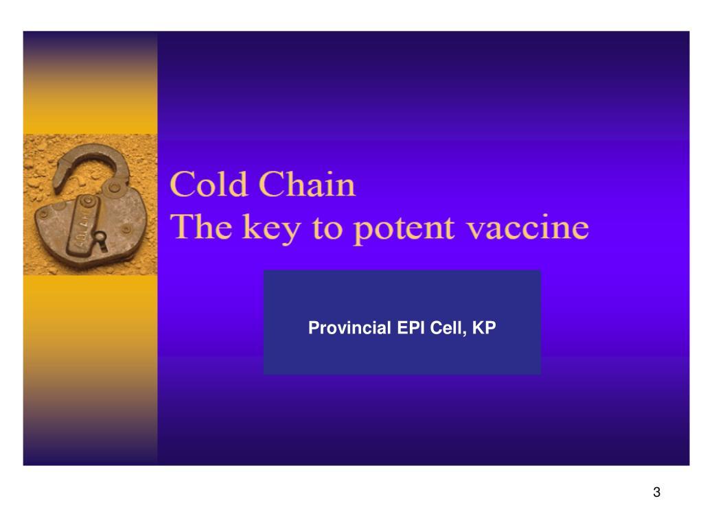 Provincial EPI Cell, KP