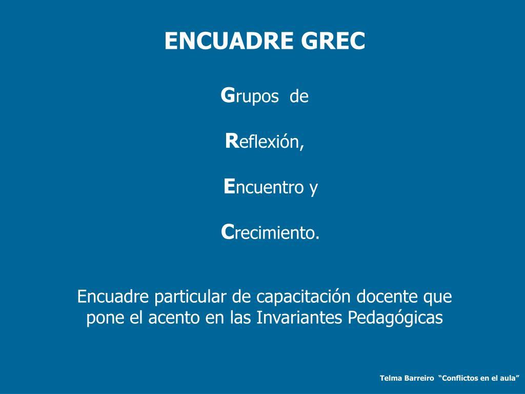 ENCUADRE GREC