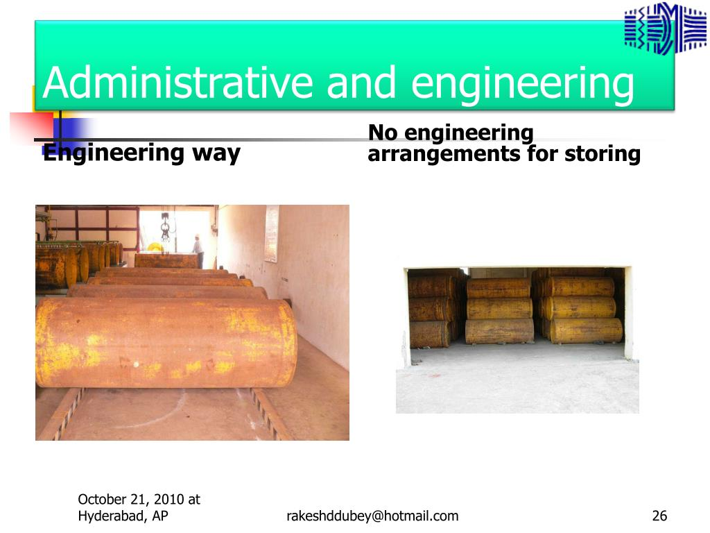 Administrative and engineering