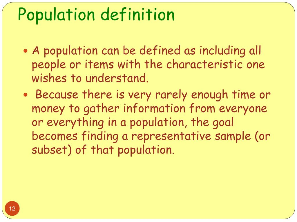 Definition Of Census