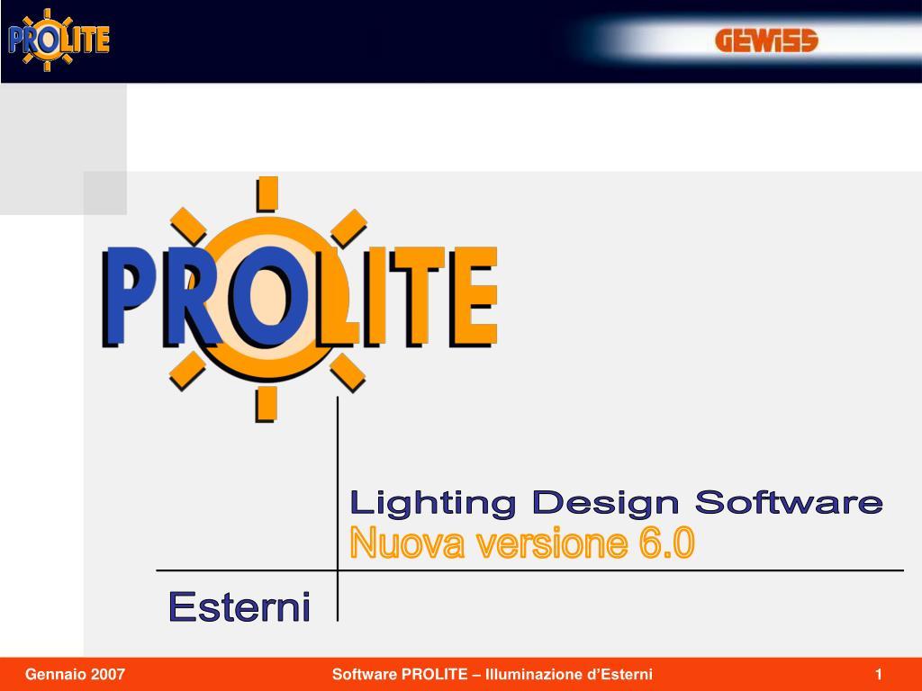 Lighting Design Software