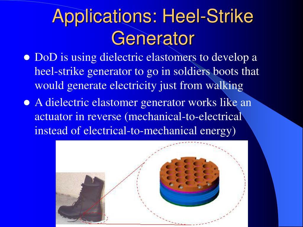 Applications: Heel-Strike Generator