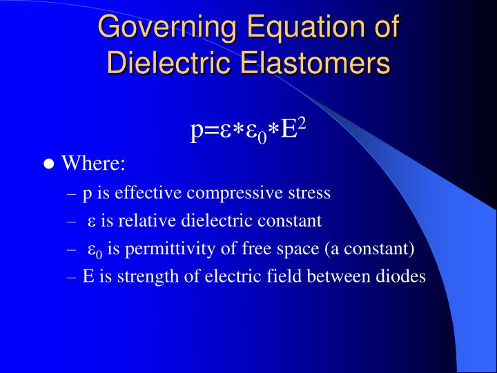 Governing equation of dielectric elastomers l.jpg