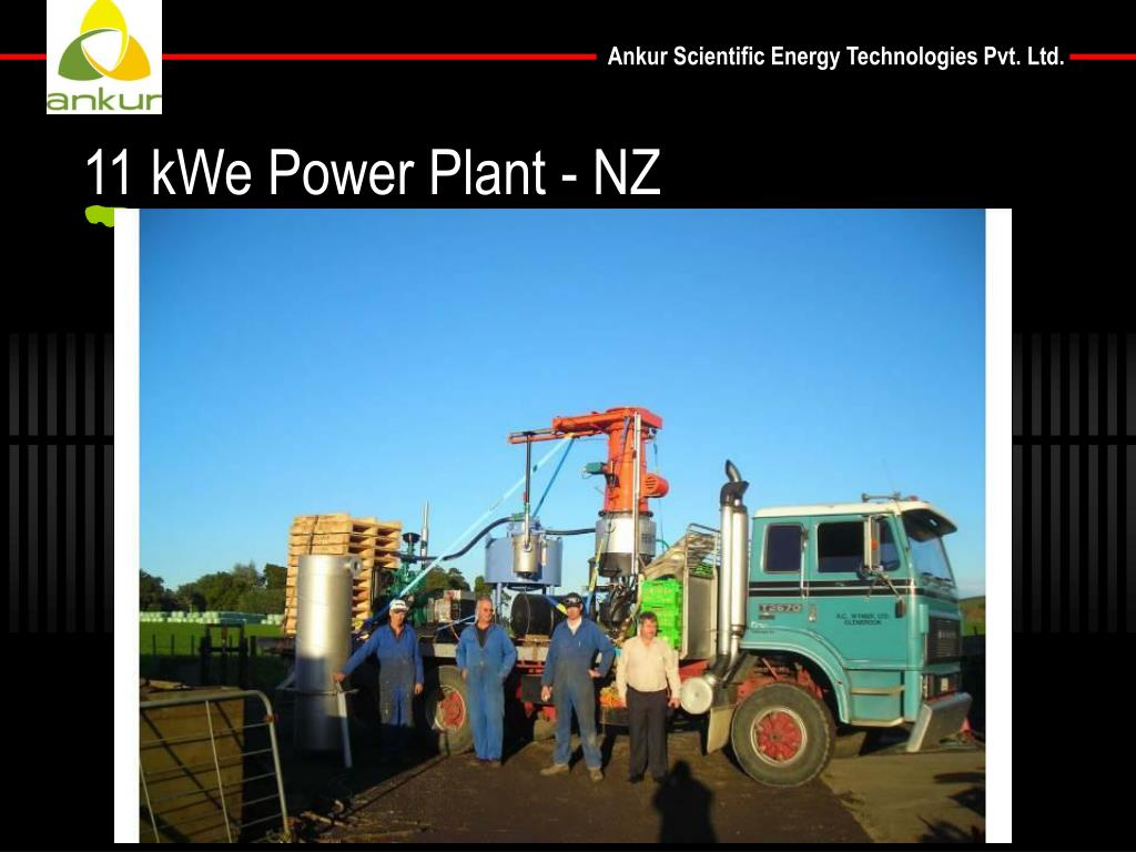 11 kWe Power Plant - NZ