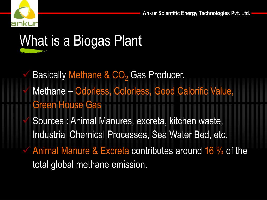 What is a Biogas Plant