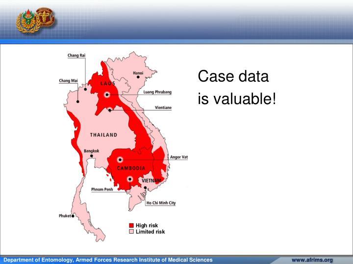 Case data