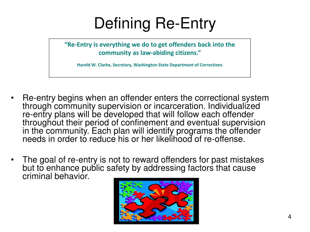 Defining Re-Entry