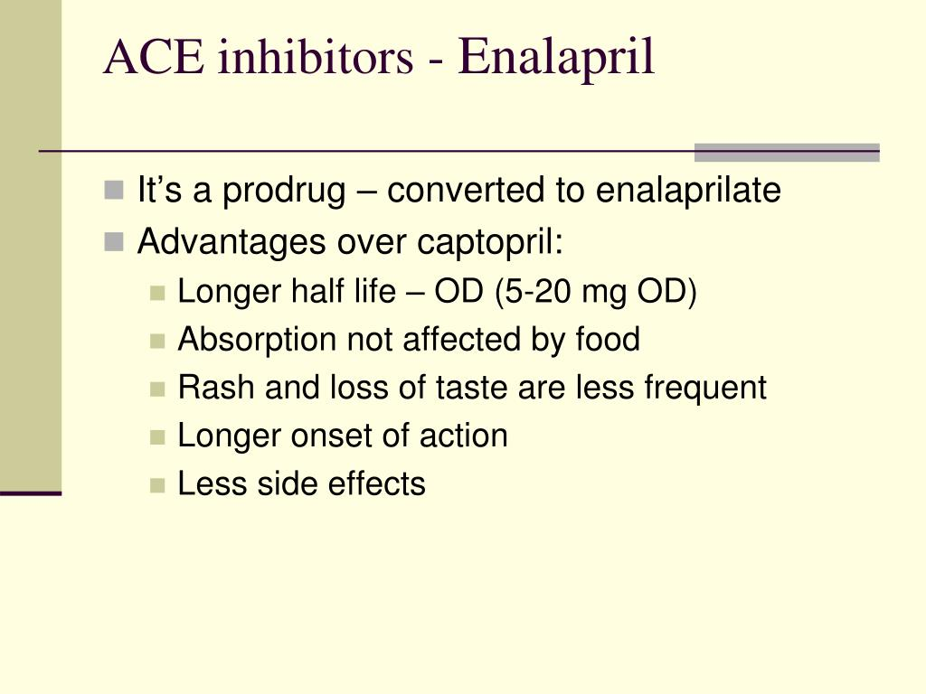 ACE inhibitors -