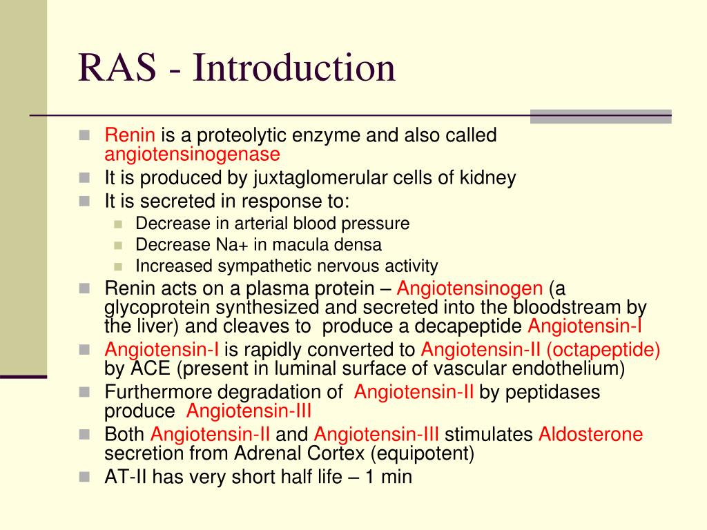 RAS - Introduction
