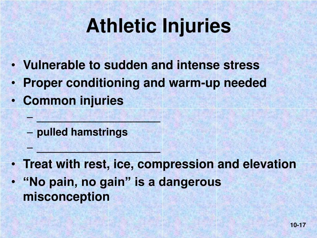 Athletic Injuries
