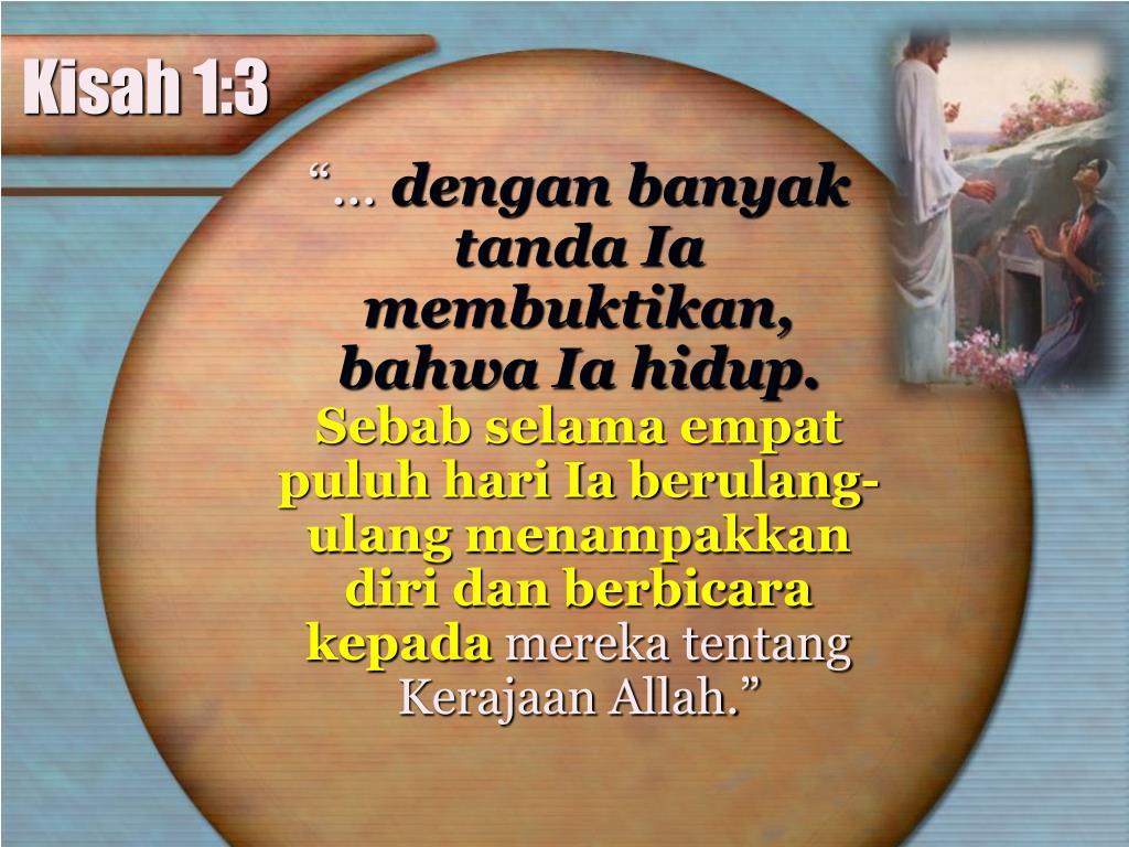 Kisah 1:3